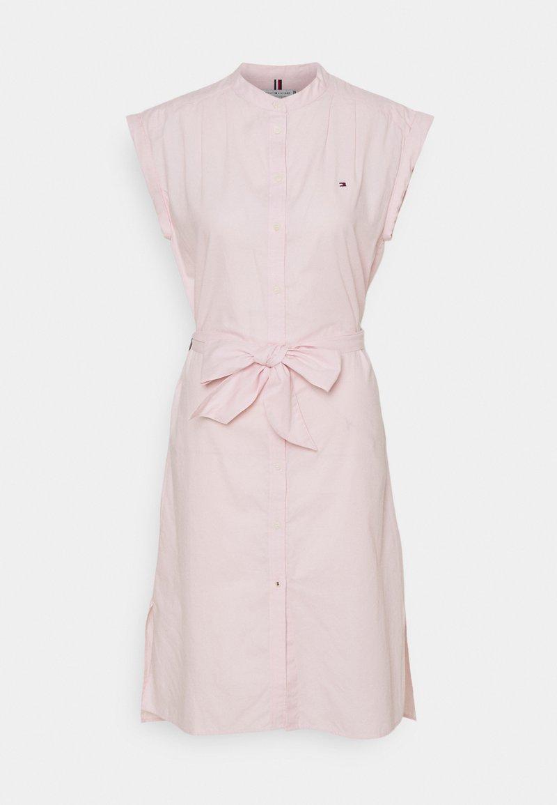 Tommy Hilfiger - OXFORD KNEE DRESS  - Day dress - light pink