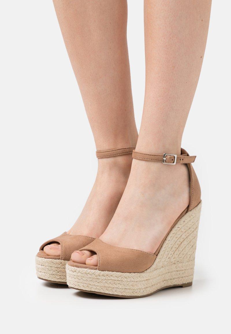 Tata Italia - Platform sandals - taupe