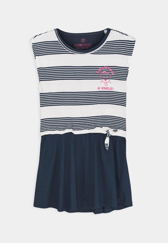 SMALL GIRLS DRESS - Jerseyjurk - dress blues