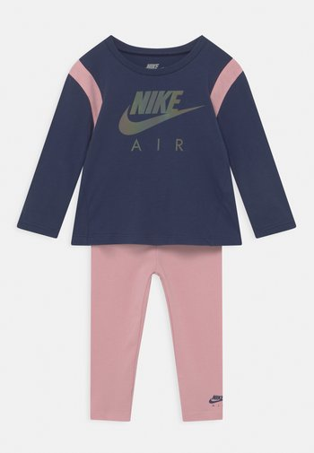 AIR SET - Legginsy - pink glaze