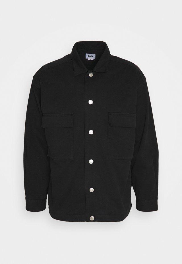 WILSON  - Camicia - black