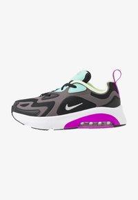 Nike Sportswear - NIKE AIR MAX 200 SCHUH FÜR JÜNGERE KINDER - Sneakers - black/metalic silver/thunder grey/aurora green/hyper violet/barely volt - 1