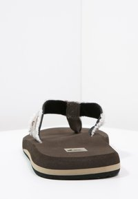Quiksilver - MONKEY ABYSS - T-bar sandals - brown - 3
