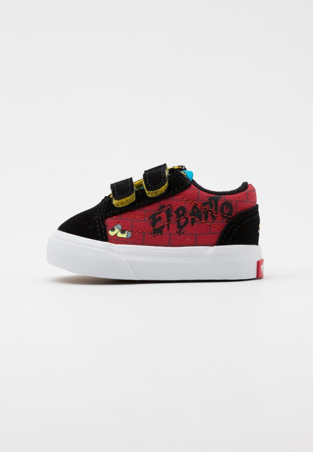 THE SIMPSONS OLD SKOOL - Trainers - dark red/multicolor