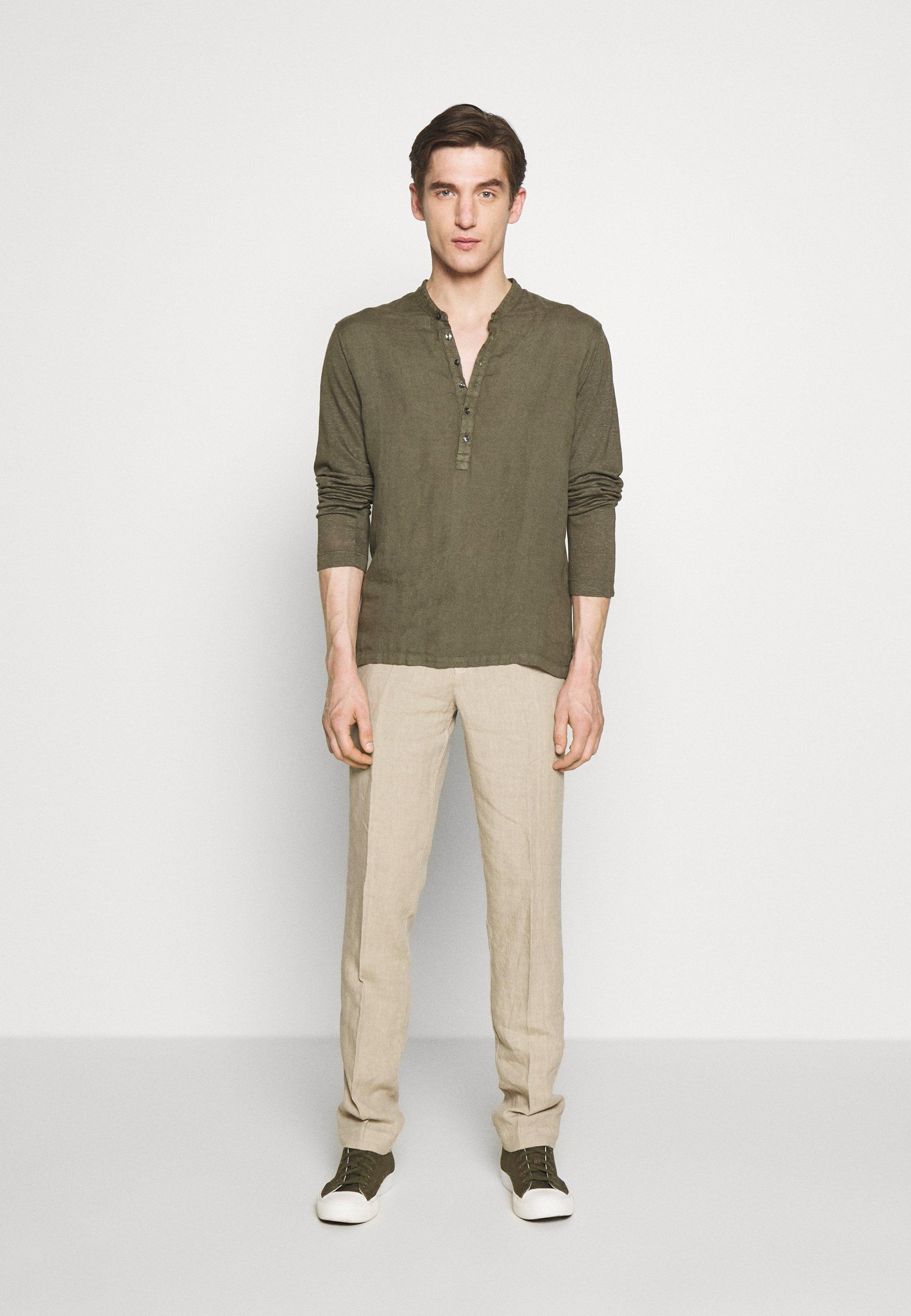 120% Lino TROUSERS - Pantalon classique - sundune