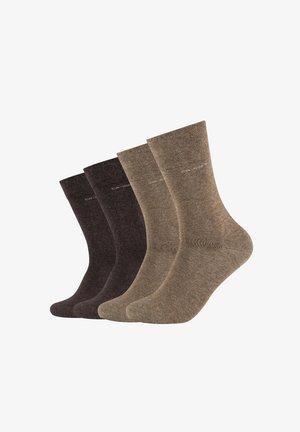 4 PACK - Socks - caramel mix