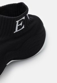 Emporio Armani - Baskets montantes - black/white - 4