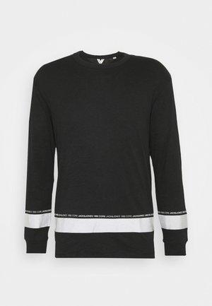JCOLEX TEE CREW NECK - Long sleeved top - black