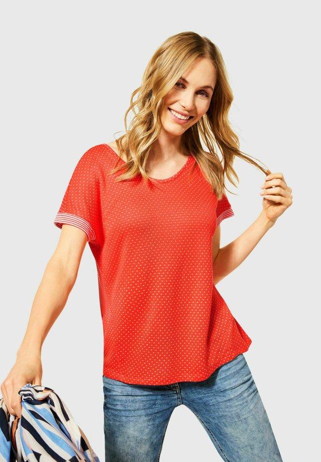 T-shirt - bas - orange