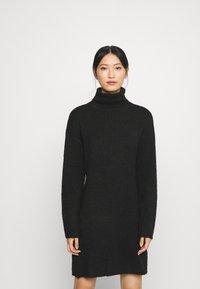 Anna Field - Strikket kjole - black - 0