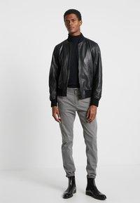 Strellson - CAMDEN - Leather jacket - black - 1