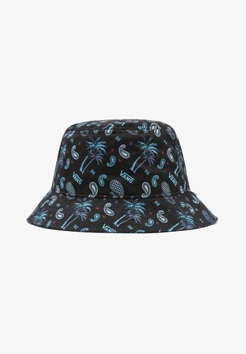 Hat - (plaid) pink/black/blue