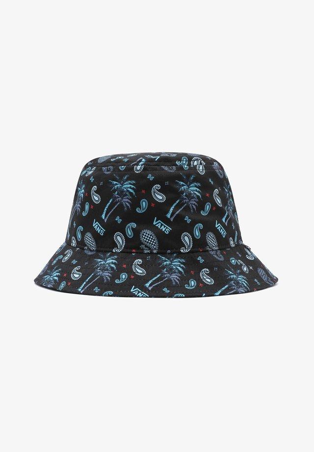 Cappello - (plaid) pink/black/blue