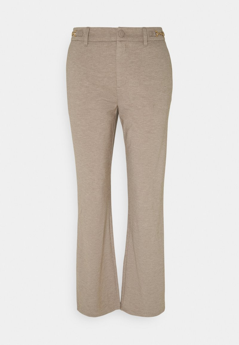 Freequent - DÈCOR - Trousers - beige sand melange