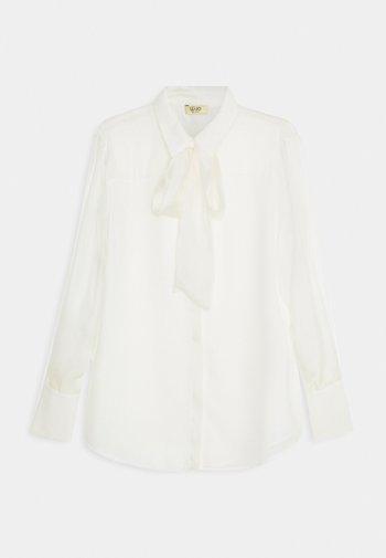 CAMICIA FIOCCO - Button-down blouse - star white