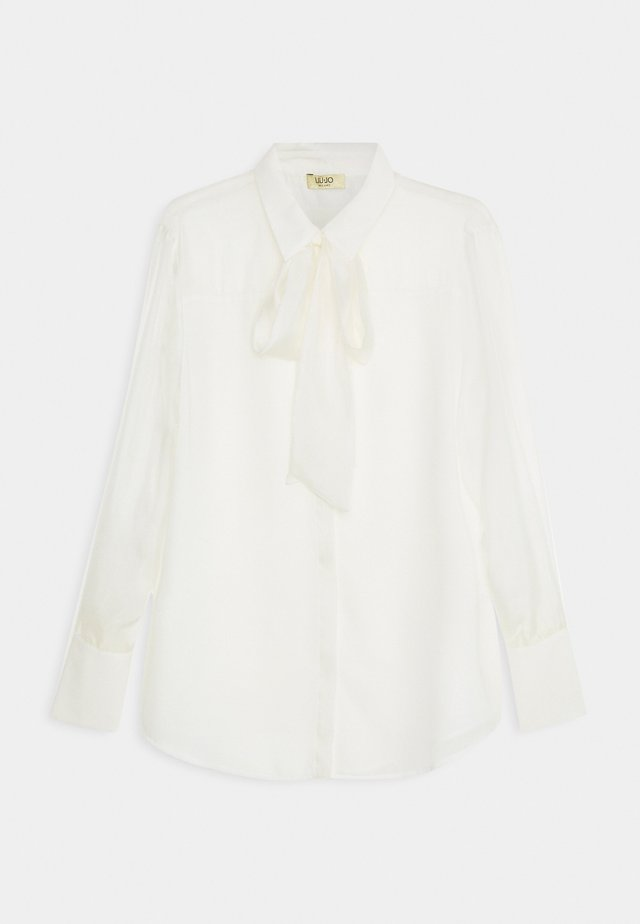CAMICIA FIOCCO - Button-down blouse - star white