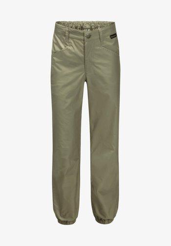 LAKESIDE PANTS KIDS - Outdoor trousers - khaki