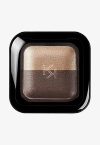 KIKO Milano - BRIGHT DUO BAKED EYESHADOW - Eye shadow - 5 deep gold/satin chocolate - 0