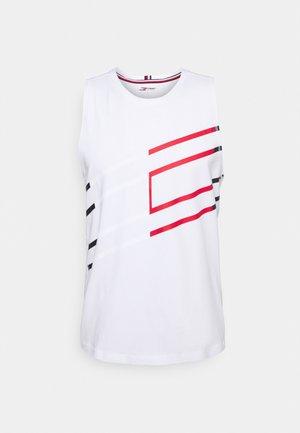GRAPHIC TANK - T-shirt sportiva - white
