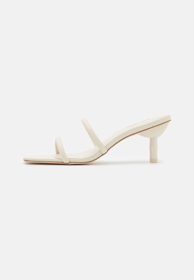 SOL  - Heeled mules - offwhite