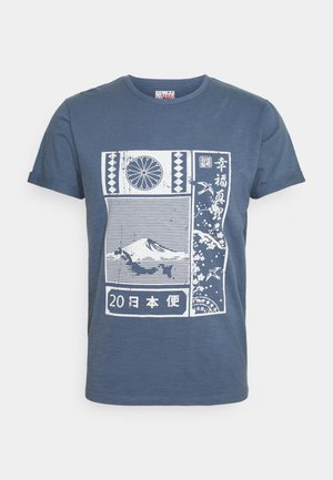 GALINDO - T-shirt print - china blue
