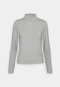 dark grey heather/white