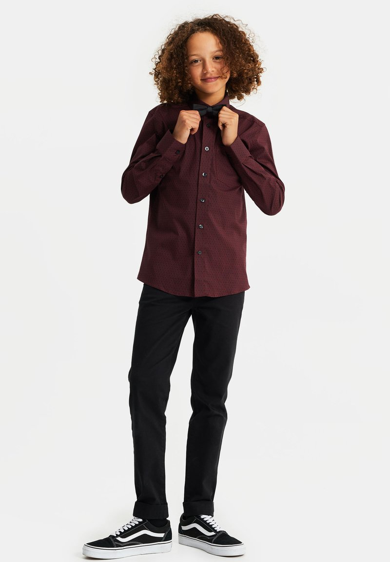 WE Fashion - MET DESSIN - Shirt - vintage red