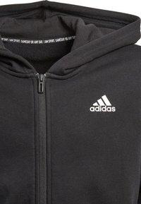 adidas Performance - veste en sweat zippée - black - 2