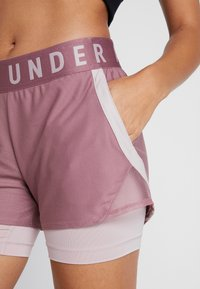 Under Armour - PLAY UP SHORTS - Pantalón corto de deporte - hushed pink/dash pink - 5