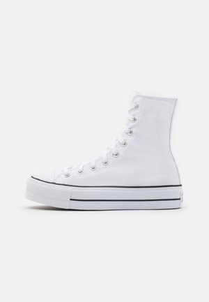 CHUCK TAYLOR ALL STAR LIFT - Sneakersy wysokie - white