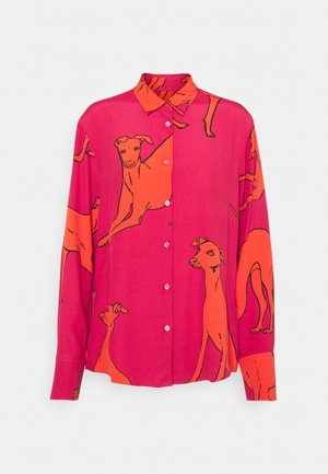 WOMENS SHIRT - Bluzka - pink orange