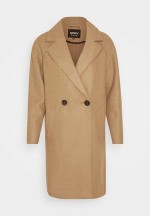 BERNA BONDED COAT - Classic coat - toasted coconut