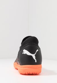 Puma - FUTURE 6.4 TT - Astro turf trainers - black/white/orange - 3
