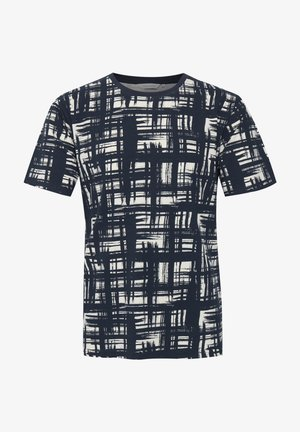 THOR AOP - T-shirt med print - navy blazer