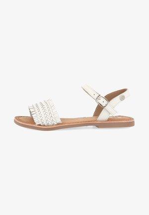 SIRACUSA - Sandals - blanco