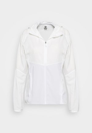 AGILE HOODIE - Training jacket - white