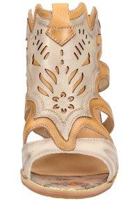 LAURA VITA - Sandalen met hoge hak - beige - 4