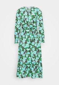 ONLY - ONLJILL MID CALF DRESS - Kjole - black/blue - 5