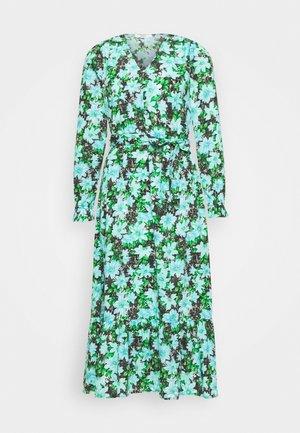 ONLJILL MID CALF DRESS - Kjole - black/blue