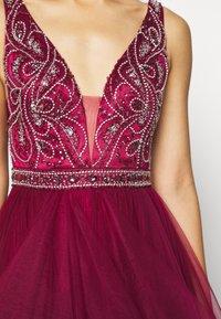 Luxuar Fashion - Vestido de fiesta - weinrot - 5