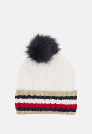 CORPORATE CABLE BEANIE - Beanie - white