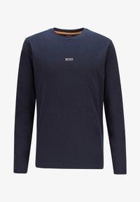 BOSS - TCHARK - Long sleeved top - dark blue - 3