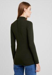 Selected Femme - SFMIO HIGHNECK  - T-shirt à manches longues - rosin - 2