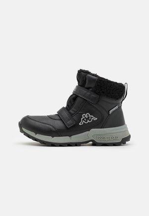 TAPIWA TEX UNISEX - Snowboot/Winterstiefel - black/grey