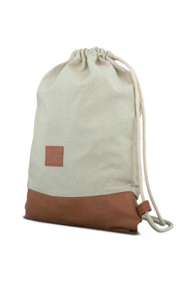 TURNBEUTEL LUKE - Sports bag - sand-braun