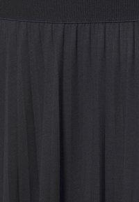 Marc O'Polo - DRESS PLISSEE - Jersey dress - dark blue - 2