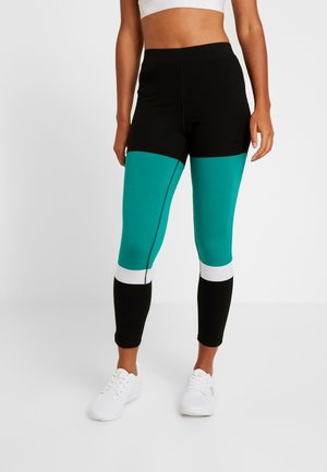 Tights - black/greenlake/bright white