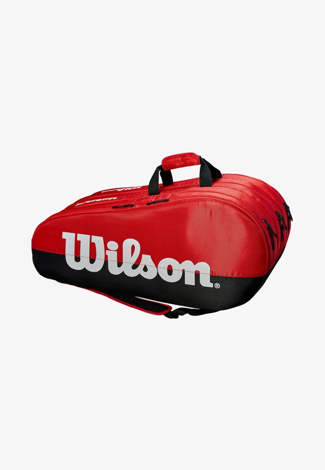 Racket bag - black/red