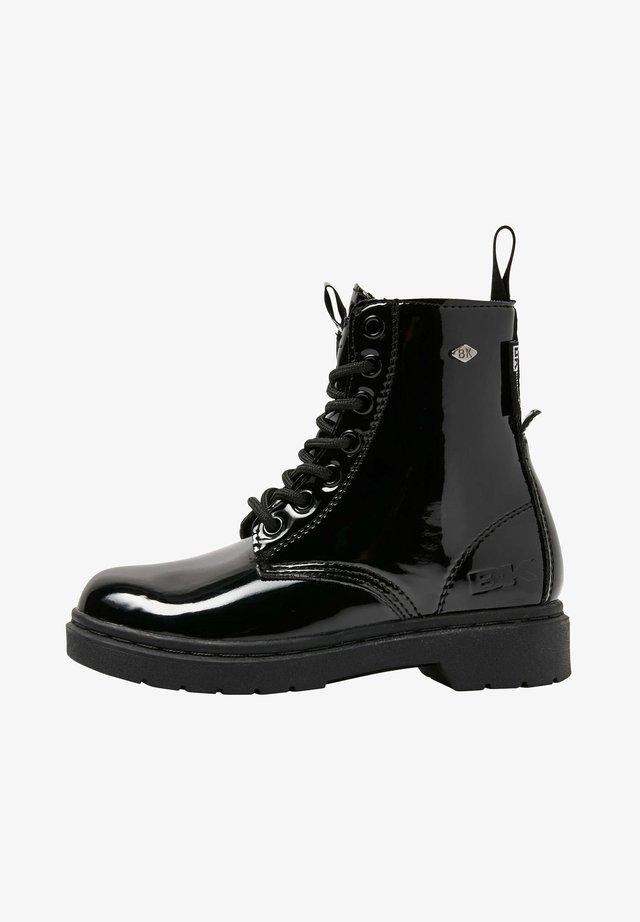 SNEAKER BLAKE - Boots à talons - black shiny