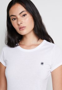 G-Star - EYBEN SLIM - Basic T-shirt - white - 6